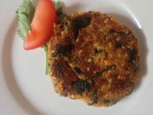 vegie pattie main